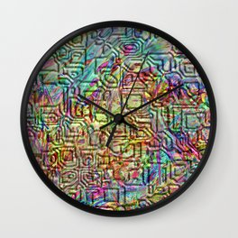 Cryptic 1 Wall Clock