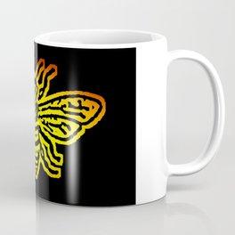 Save The Bees, Linocut - Sales Donated To NAPPC Coffee Mug