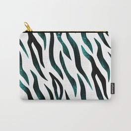 Here Kitty Kitty - Teal Carry-All Pouch