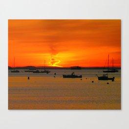 """""""Fire Light"""" Canvas Print"""
