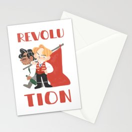 for revolution Stationery Cards