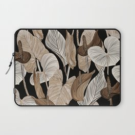 Lush lily - russet Laptop Sleeve