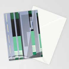 Rolling Through The Pines Stationery Cards