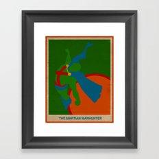 Martian Manhunter Framed Art Print