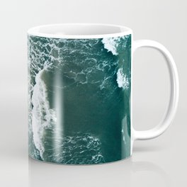 Wavy Waves on a stormy day Coffee Mug