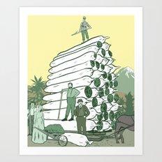 Pot Pioneers Art Print