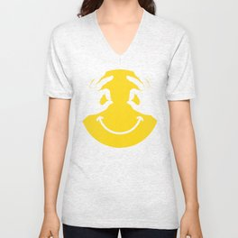 Make You Smile Unisex V-Neck