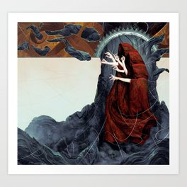 FATED : The Silent Oath - Norns  Art Print