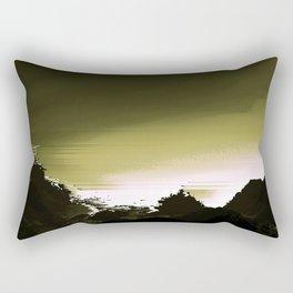 Dark Mountain Rectangular Pillow