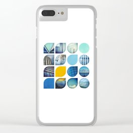 Cold Comfort Collage — The Blues Clear iPhone Case