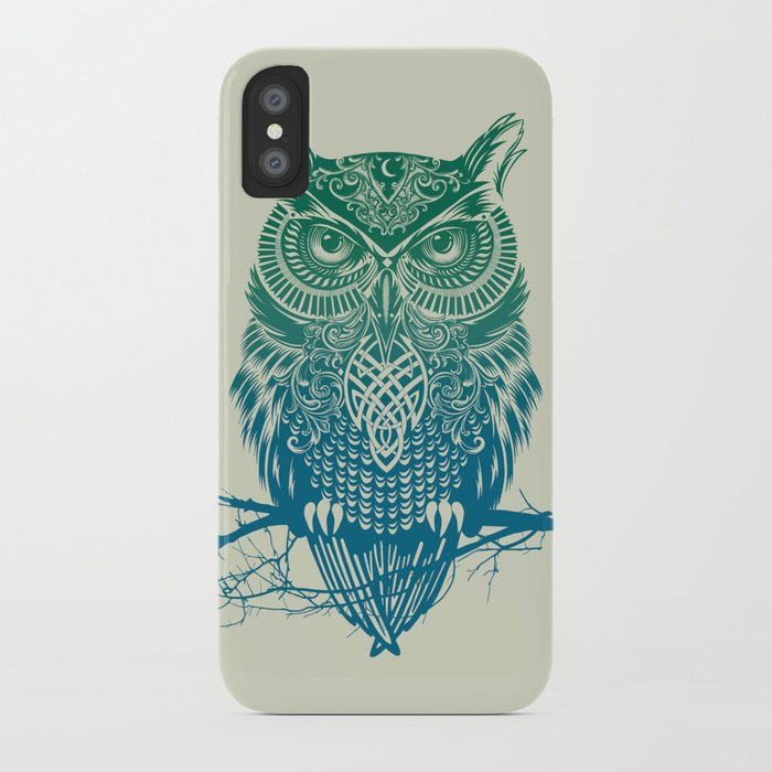 Warrior Owl iPhone Case