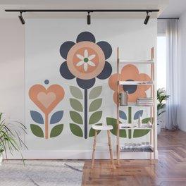 Flower Folk Wall Mural
