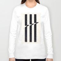 glitch Long Sleeve T-shirts featuring Glitch by Chad De Gris