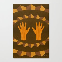 The ASL Marquetry - (ASL Marquetry Series) Canvas Print