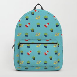 Aliens & Pizza Planet,Toy Story. Backpack