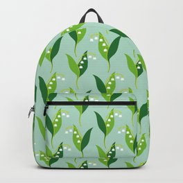 Lily of the Valley (Convallaria majalis) Backpack