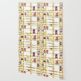 Piet Mondrian Broadway Boogie Woogie Wallpaper