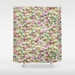 Mini Marshmallow Photo Pattern Shower Curtain