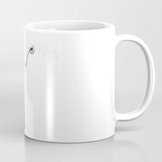 Girl with dandelion Mug