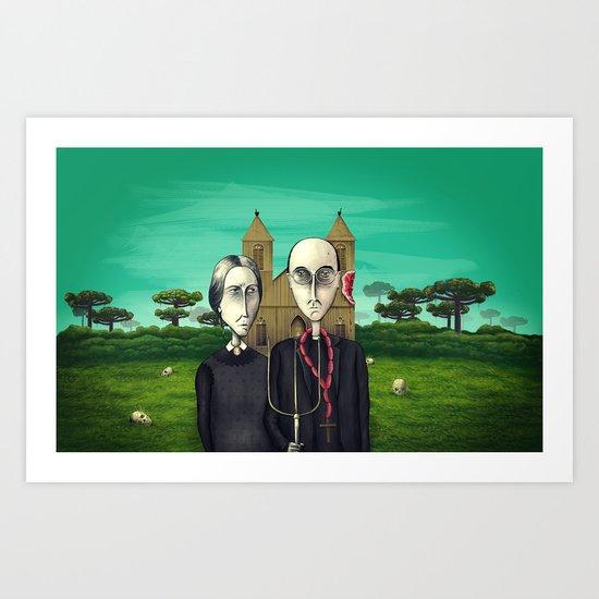 Terra de Condá Art Print