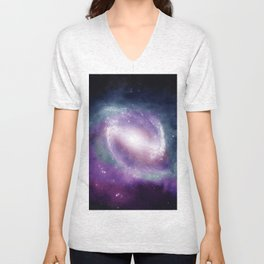 Space Clouds Unisex V-Neck