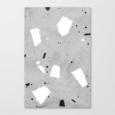 painted terrazzo 3 Canvas Print