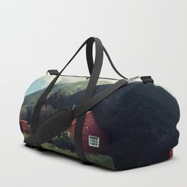 Red stalker hood! Duffle Bag
