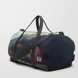 Red stalker hood! Duffle Bag