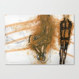 gurl Canvas Print