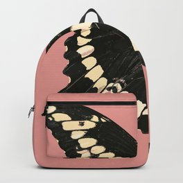 Butterfly Illustrated Print Backpack