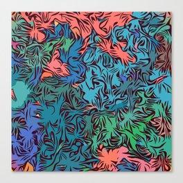 Oceanic Savannah Canvas Print