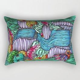 Falling Water Rectangular Pillow