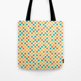 Vintage Dots Tote Bag