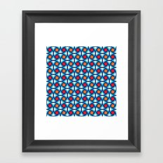 Geometric Pattern #169 (1977) Framed Art Print