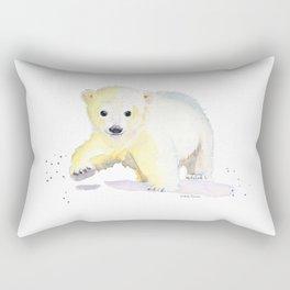Little Polar Bear Rectangular Pillow
