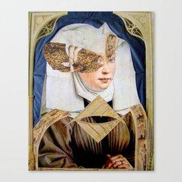 JUNGE FRAU Canvas Print