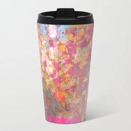 Pink Vase Travel Mug