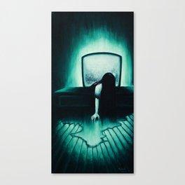 She Never Sleeps Canvas Print