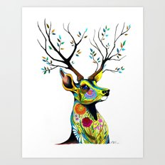 -King of Forest- Art Print
