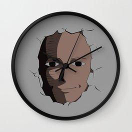Saitama Face Wall Clock