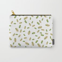 watercolor green pistachios Carry-All Pouch