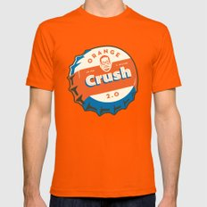 Denver's Orange Crush Defense TWO POINT OH! Orange LARGE Mens Fitted Tee