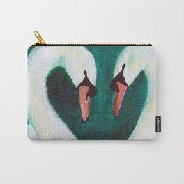 Swans Flirt Carry-All Pouch