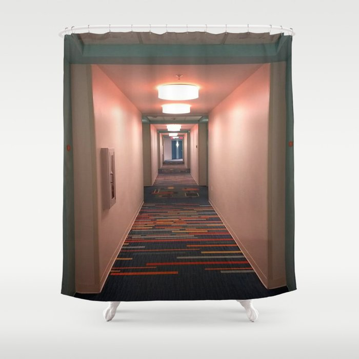 Hallway Shower Curtain