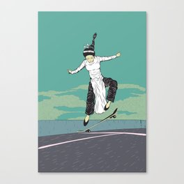 [ LET YOURSELF GO! ] The Vietnamese lady. Canvas Print