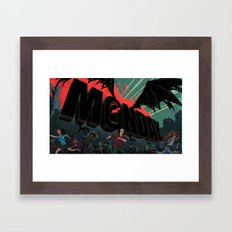 The Monday Framed Art Print