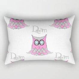 Dream Owl Pattern Rectangular Pillow