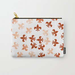 Autumn Fleur-Di-Lis Carry-All Pouch