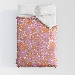 vintage pink 4 Comforters
