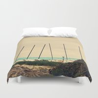 boats Duvet Covers featuring Boats by Kiera Wilson